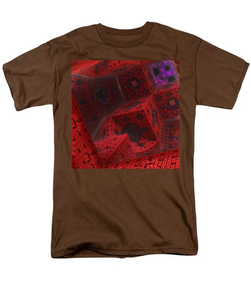 Men's T-Shirt  (Regular Fit) featuring the digital art M Cubed by Lyle Hatch