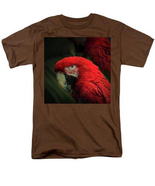 Macaw Portrait Men's T-Shirt  (Regular Fit) by Joni Eskridge