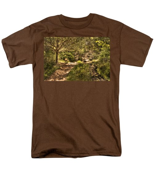 Men's T-Shirt  (Regular Fit) featuring the photograph Magic Bench by Tamyra Ayles