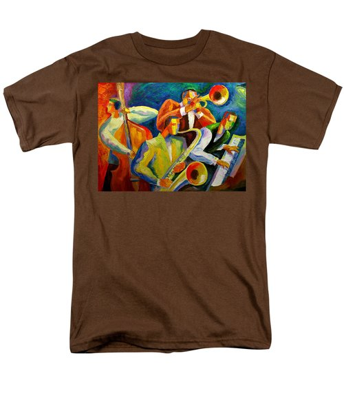 Magic Music Men's T-Shirt  (Regular Fit) by Leon Zernitsky