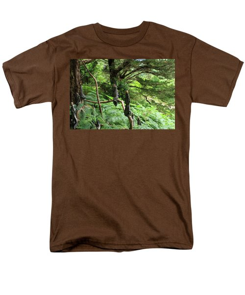 Men's T-Shirt  (Regular Fit) featuring the photograph Magical Forest by Aidan Moran