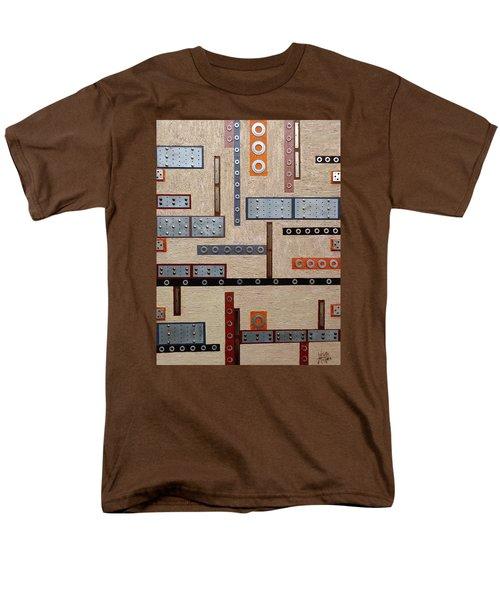 Make Mine Metal Men's T-Shirt  (Regular Fit) by Tara Hutton