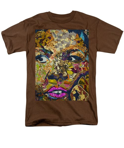 Men's T-Shirt  (Regular Fit) featuring the tapestry - textile Mama's Watching by Apanaki Temitayo M