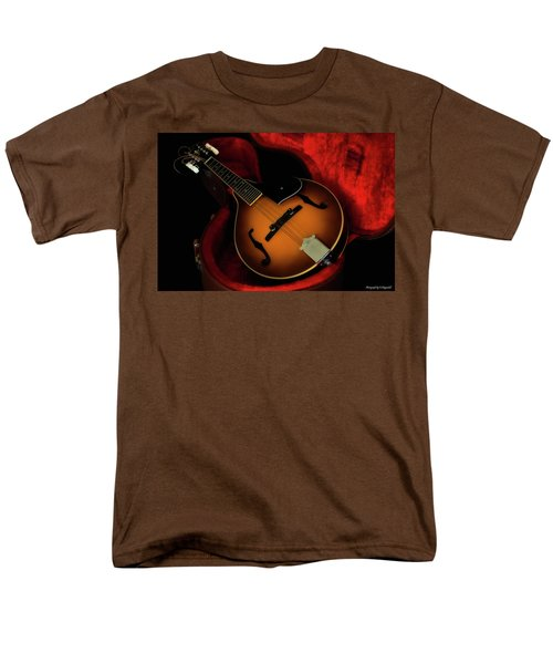 Mandolin Guitar 66661 Men's T-Shirt  (Regular Fit) by Kevin Chippindall