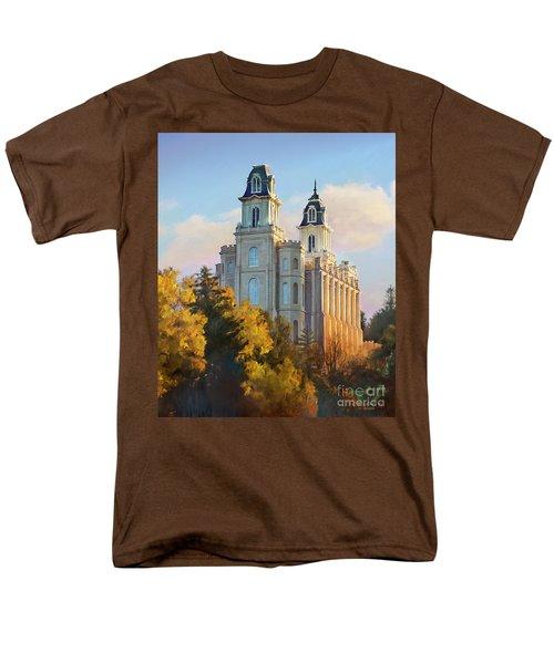 Manti Temple Tall Men's T-Shirt  (Regular Fit)