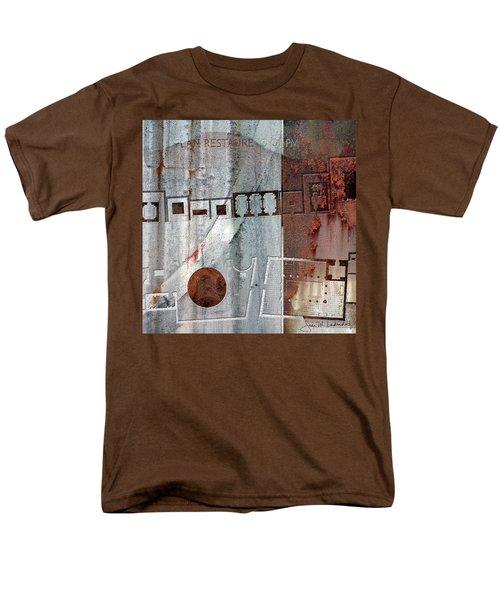Maps #20 Men's T-Shirt  (Regular Fit) by Joan Ladendorf