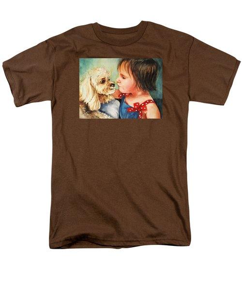 Mara Meets Mocha Men's T-Shirt  (Regular Fit)