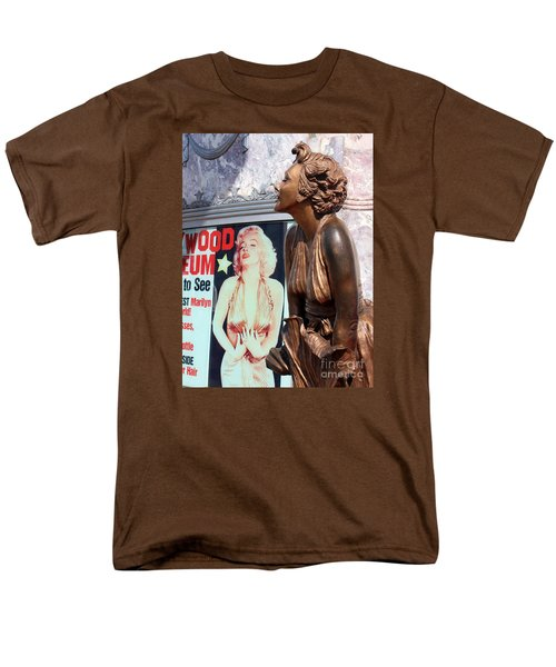 Men's T-Shirt  (Regular Fit) featuring the photograph Marilyn by Cheryl Del Toro