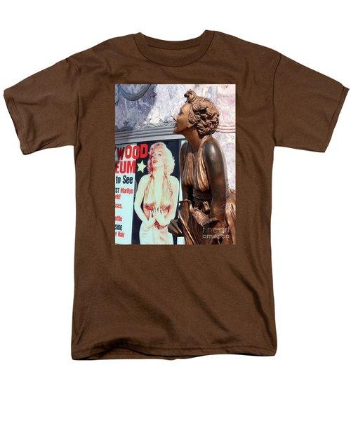 Marilyn Men's T-Shirt  (Regular Fit) by Cheryl Del Toro
