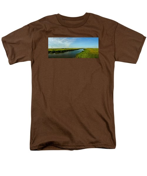 Men's T-Shirt  (Regular Fit) featuring the photograph Marshes Of Glynn by Laura Ragland