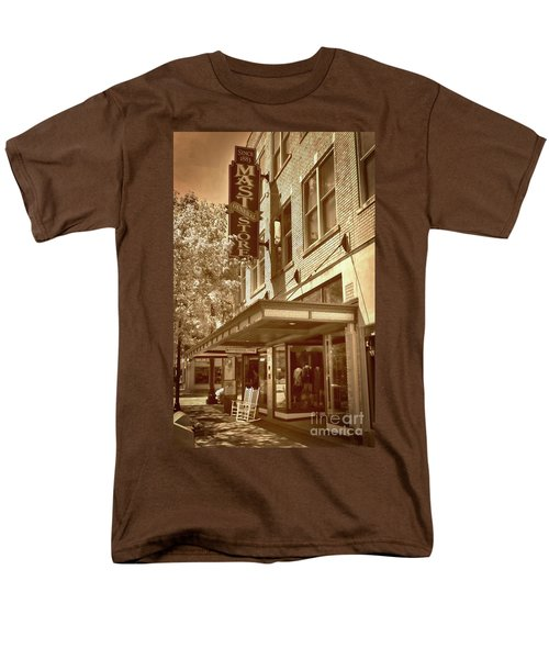 Men's T-Shirt  (Regular Fit) featuring the photograph Mast General Store by Skip Willits