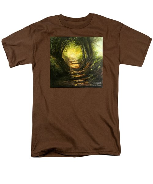 May Your Light Always Shine Men's T-Shirt  (Regular Fit) by Valerie Travers