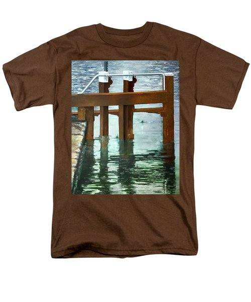 Maynooth Lock Men's T-Shirt  (Regular Fit) by Marty Garland