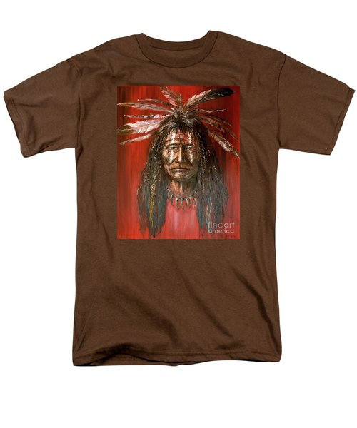 Medicine Man Men's T-Shirt  (Regular Fit) by Arturas Slapsys
