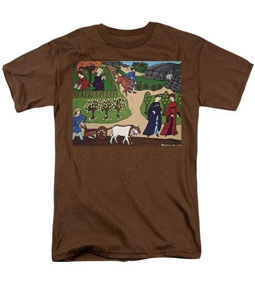 Medieval Fall Men's T-Shirt  (Regular Fit) by Stephanie Moore