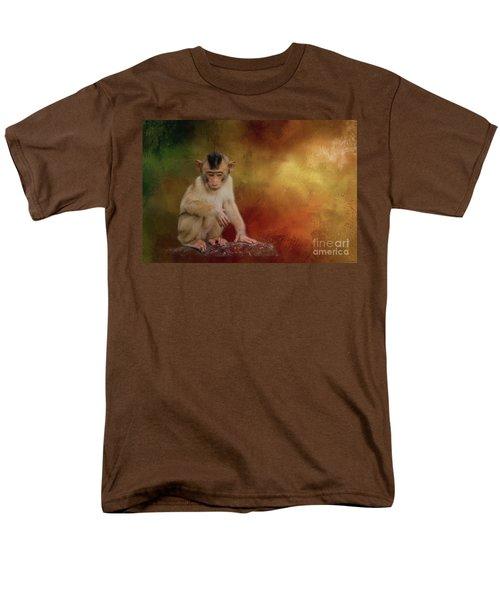Meditative Men's T-Shirt  (Regular Fit) by Eva Lechner