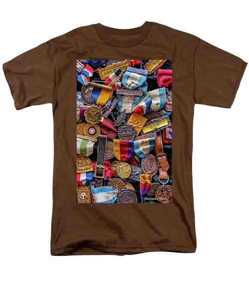 Men's T-Shirt  (Regular Fit) featuring the photograph Meet Medals by Christopher Holmes