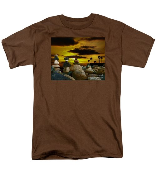 Men's T-Shirt  (Regular Fit) featuring the digital art Memories In The Twilight by Rhonda Strickland