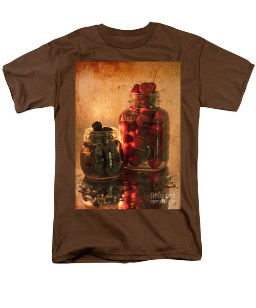 Memories Of Jams, Preserves And Jellies  Men's T-Shirt  (Regular Fit) by Sherry Hallemeier