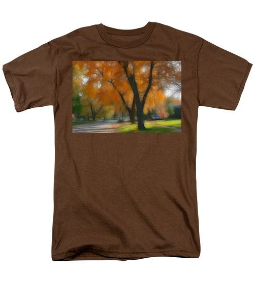 Memory Of An Autumn Day Men's T-Shirt  (Regular Fit) by Lyle Hatch