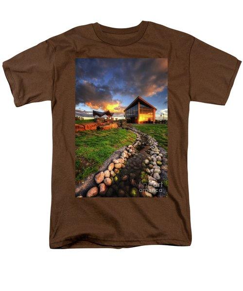 Men's T-Shirt  (Regular Fit) featuring the photograph Mercia Marina 17.0 by Yhun Suarez