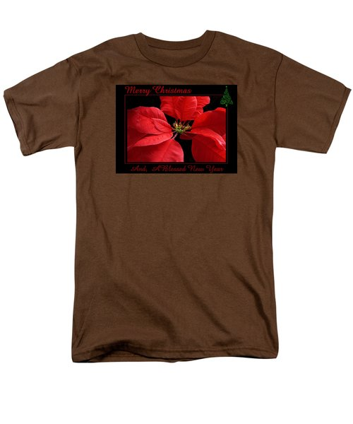Men's T-Shirt  (Regular Fit) featuring the photograph Merry Christmas 2015 by Judy Johnson