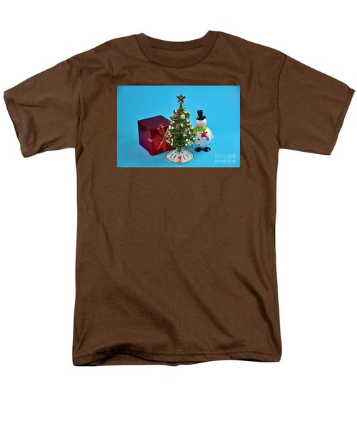 Merry Christmas To You Men's T-Shirt  (Regular Fit) by Ray Shrewsberry