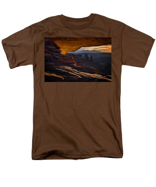 Mesa Arch Glow Men's T-Shirt  (Regular Fit) by Jaki Miller