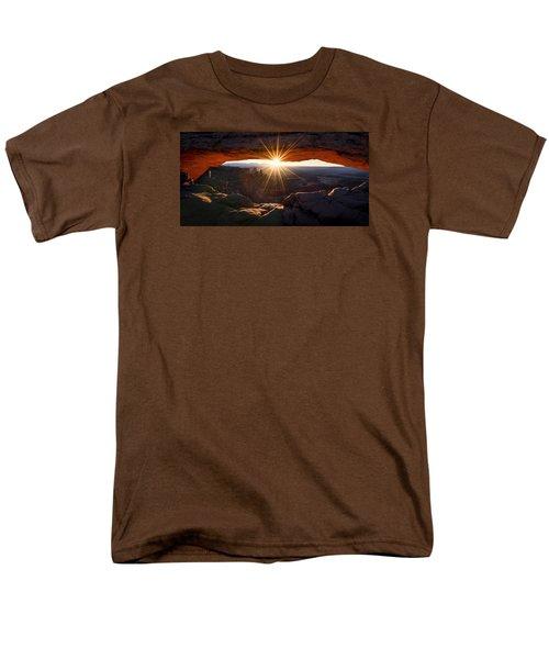 Mesa Glow Men's T-Shirt  (Regular Fit)