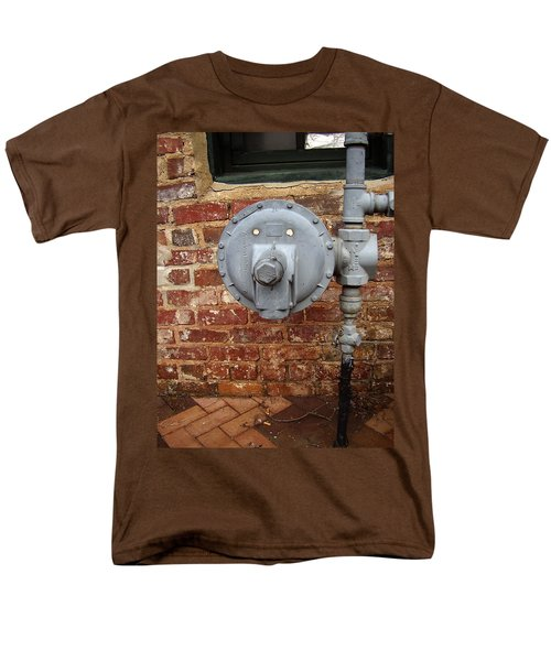 Meter In Athens Ga Men's T-Shirt  (Regular Fit) by Flavia Westerwelle