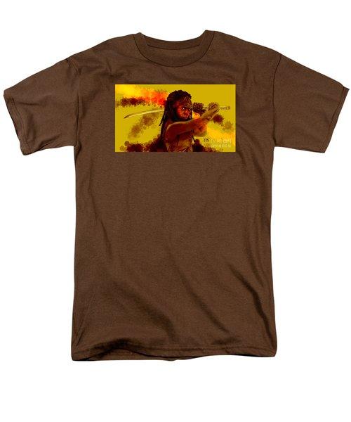 Michonne Men's T-Shirt  (Regular Fit) by David Kraig