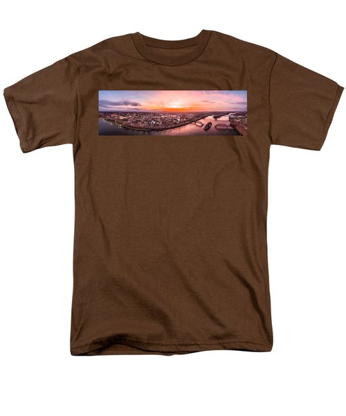 Middletown Connecticut Sunset Men's T-Shirt  (Regular Fit) by Petr Hejl