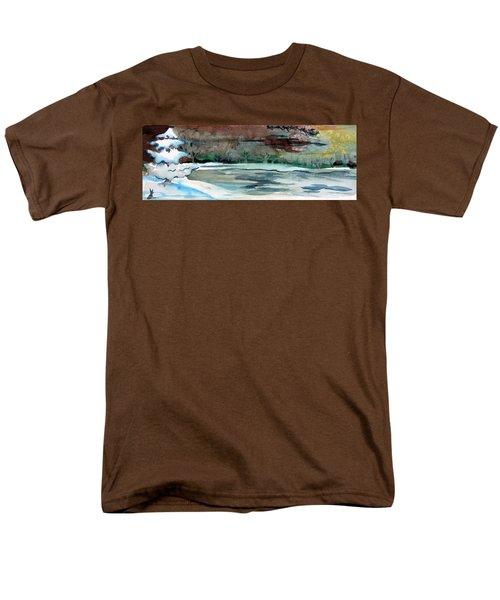 Midnight Rider Men's T-Shirt  (Regular Fit) by Mindy Newman