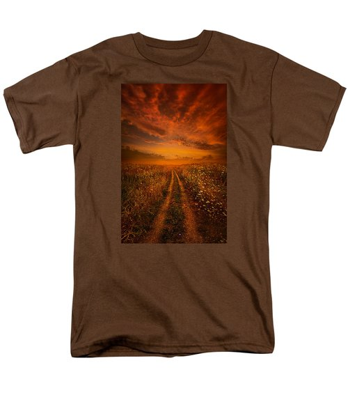 Miles And Miles Away Men's T-Shirt  (Regular Fit) by Phil Koch