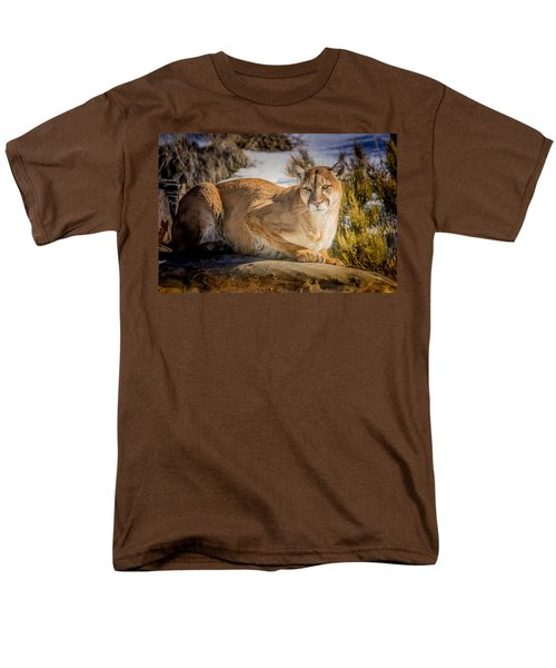 Men's T-Shirt  (Regular Fit) featuring the photograph Milo At The Ark by Janis Knight