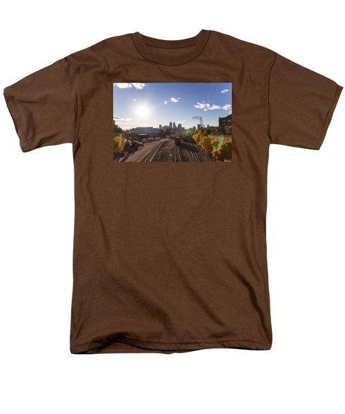 Minneapolis In The Fall Men's T-Shirt  (Regular Fit) by Zach Sumners