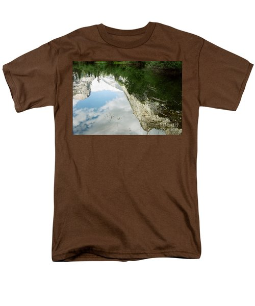 Mirrored Men's T-Shirt  (Regular Fit) by Kathy McClure