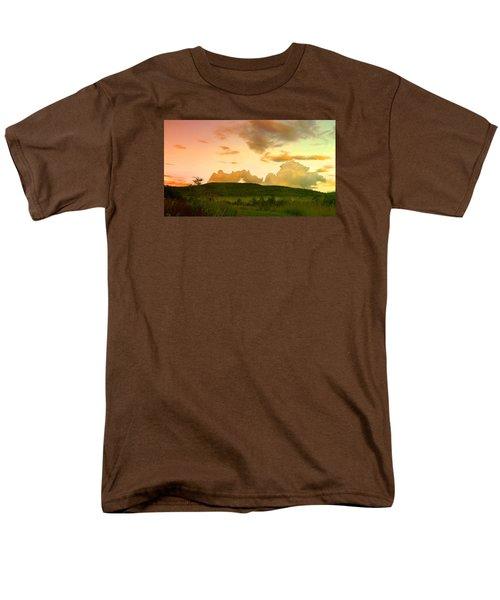 Misty Morning Sunrise Men's T-Shirt  (Regular Fit) by Mike Breau