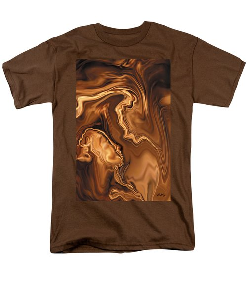 Men's T-Shirt  (Regular Fit) featuring the digital art Moment Before The Kiss by Rabi Khan