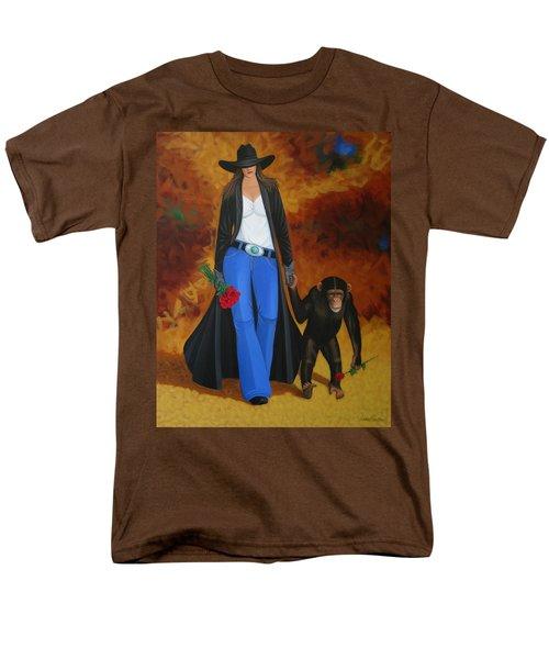 Monkeys Best Friend Men's T-Shirt  (Regular Fit) by Lance Headlee