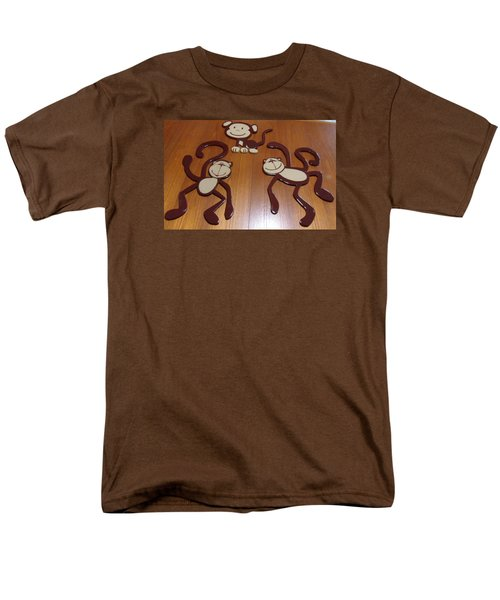 Monkeys Men's T-Shirt  (Regular Fit) by Val Oconnor