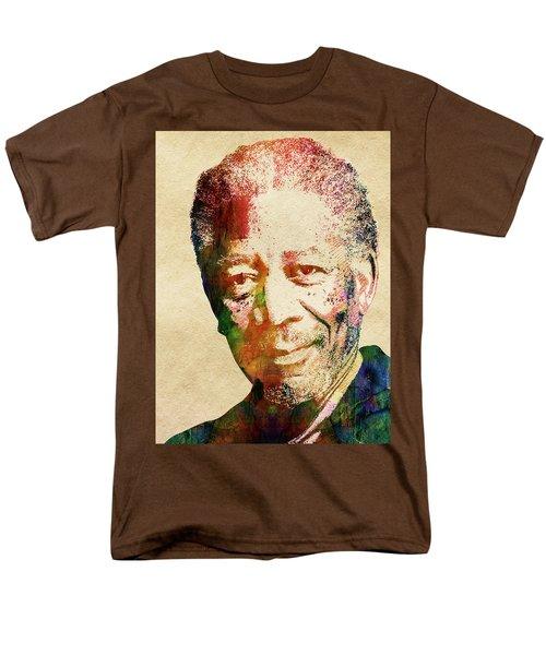 Morgan Freeman Men's T-Shirt  (Regular Fit) by Mihaela Pater