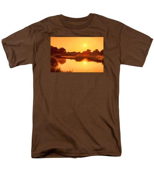 Morning Glory Men's T-Shirt  (Regular Fit) by Nadia Sanowar
