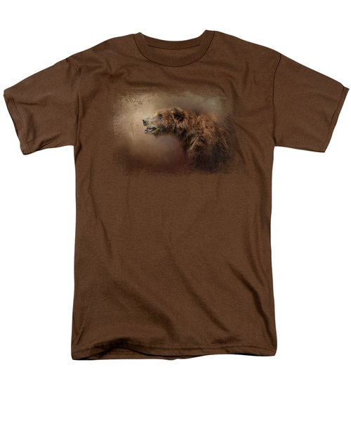 Morning Grizzly Men's T-Shirt  (Regular Fit) by Jai Johnson