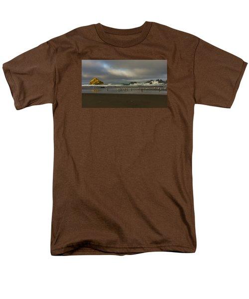 Morning Light On The Beach Men's T-Shirt  (Regular Fit) by Ulrich Burkhalter