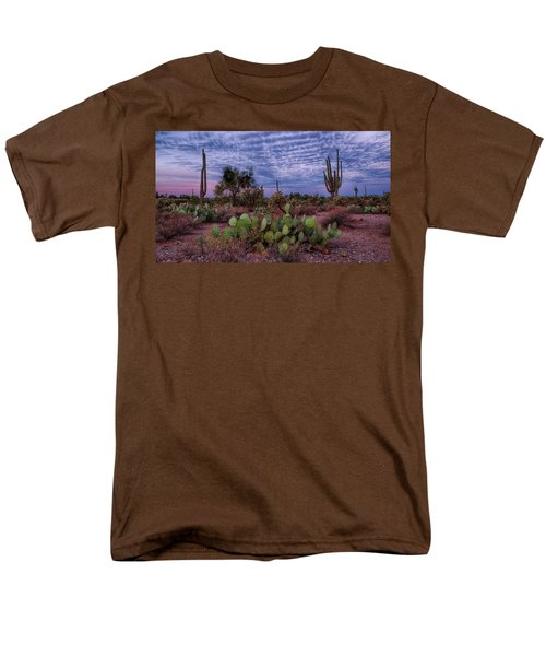 Morning Walk Along Peralta Trail Men's T-Shirt  (Regular Fit) by Monte Stevens