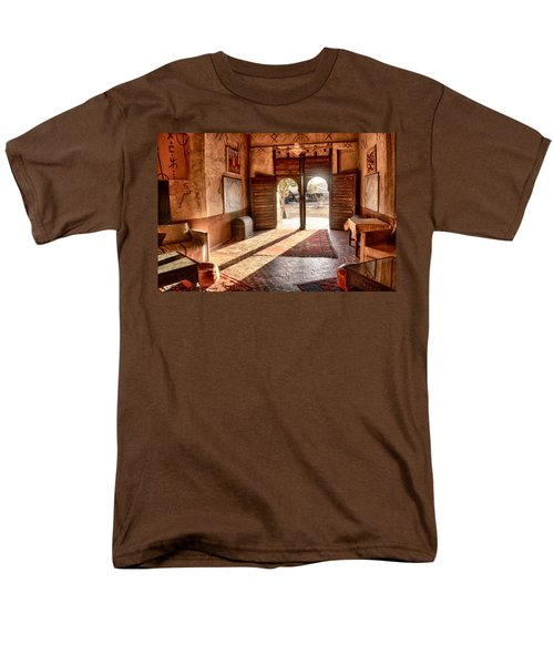 Moroccan Kasbah Men's T-Shirt  (Regular Fit) by Kathy Adams Clark