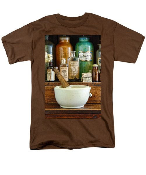 Mortar And Pestle Men's T-Shirt  (Regular Fit) by Jill Battaglia