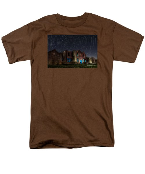 Mosheim Texas Schoolhouse Men's T-Shirt  (Regular Fit) by Keith Kapple