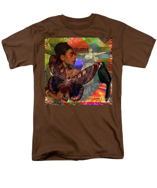 Mother Earth Persecution Men's T-Shirt  (Regular Fit) by Joseph Mosley